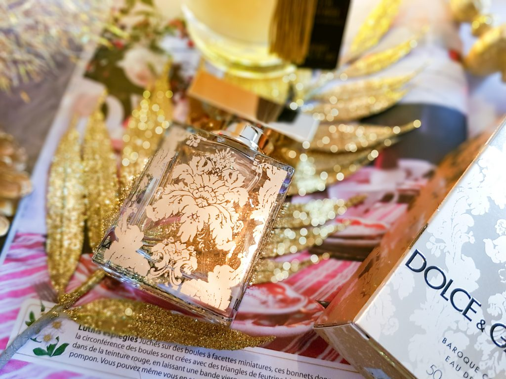 édition baroque Dolce & Gabbana The One