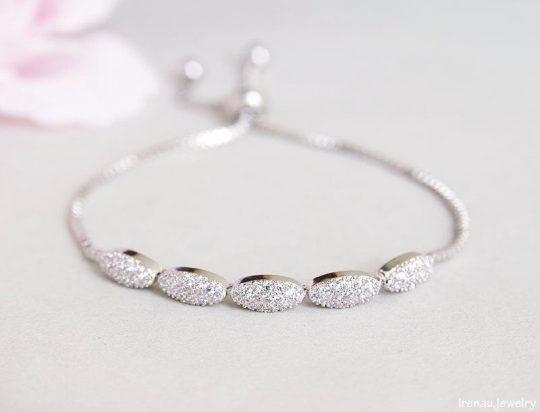 bracelet Colette oxydes de zirconium Aurora Secrets
