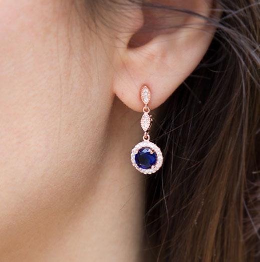 boucles d'oreilles Kaliane Aurora Secrets