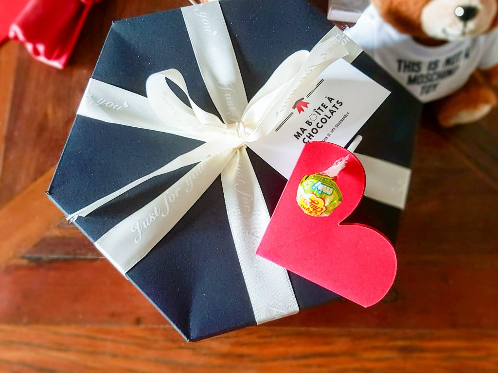 idées cadeaux Saint-Valentin pour homme : Ma Boîte à Chocolats