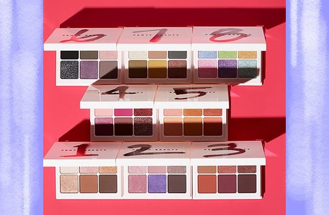 mini-palettes Snap Shadows Fenti Beauty