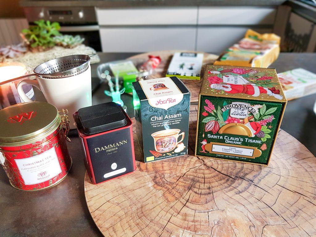 sélection boissons chaudes: thés et infusions