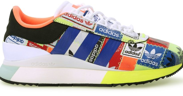 5 sneakers mode pour femme : ADIDAS W SL FASHION - CLOUD WHITE/TEAM ROYAL BLUE