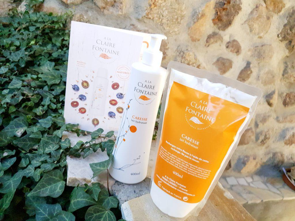 cosmétiques rechargeables A La Claire Fontaine