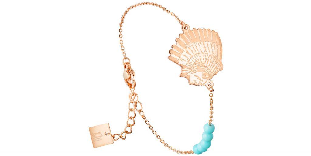 bracelet chaîne chez indien Zag Bijoux