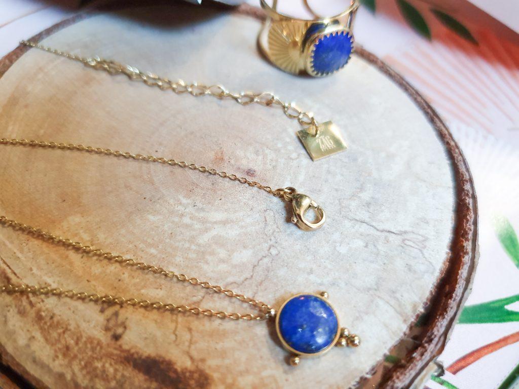 accessoires lapis lazuli Zag Bijoux