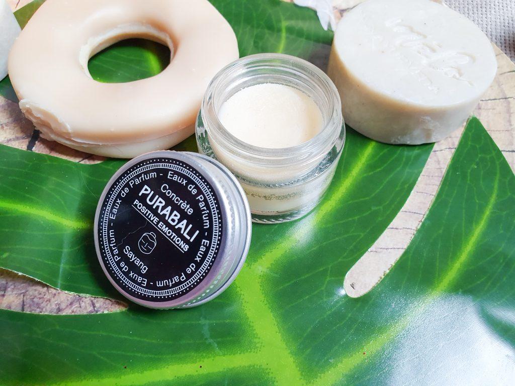 eau de parfum solide Pura Bali