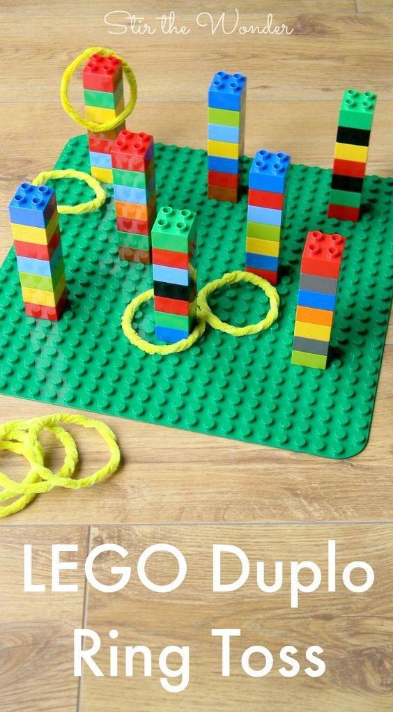 jeu avec lego