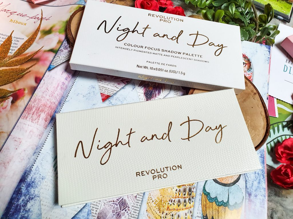 make up addict : palette Night and Day Revolution Pro