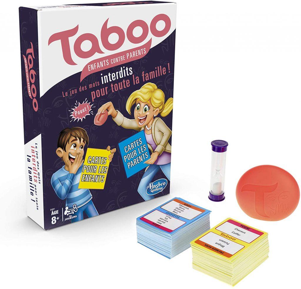 sélection de jeux de société : Taboo