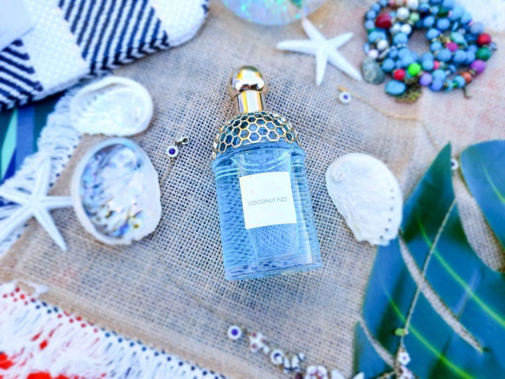 La douceur d'un parfum estival : Aqua Allegoria Coconut Fizz Guerlain