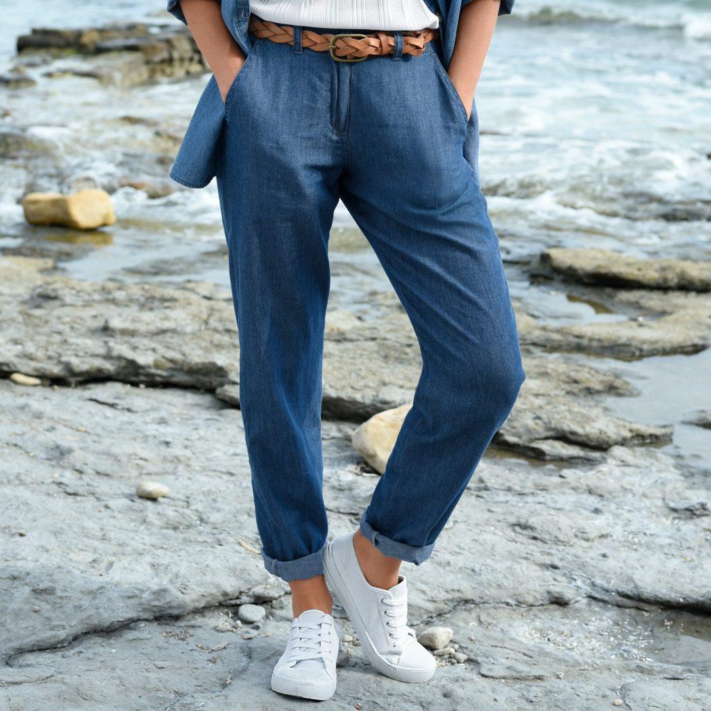 pantalo, jean léger Blancheporte