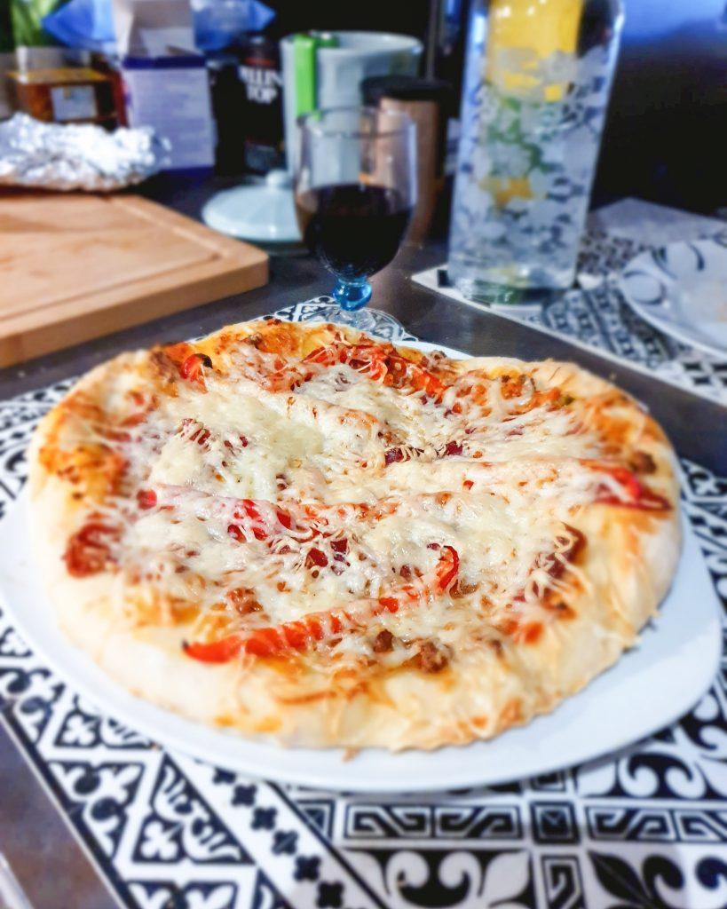 les bonnes raisons de se mettre à la cuisine fait maison : pizza maison