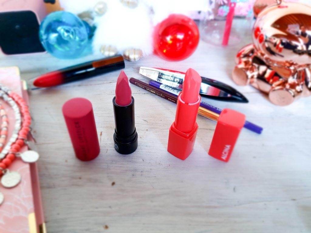 maquillage pas cher à offrir à vos ado : rouges à lèvres