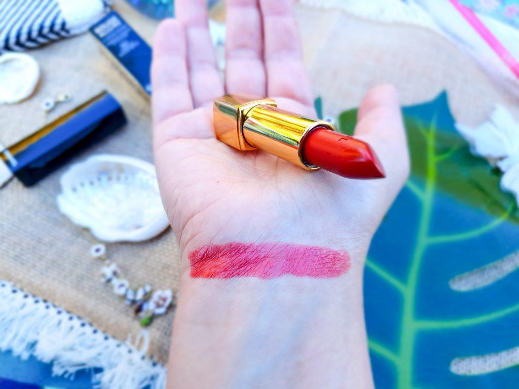 rouge métallisé parfait Chanel