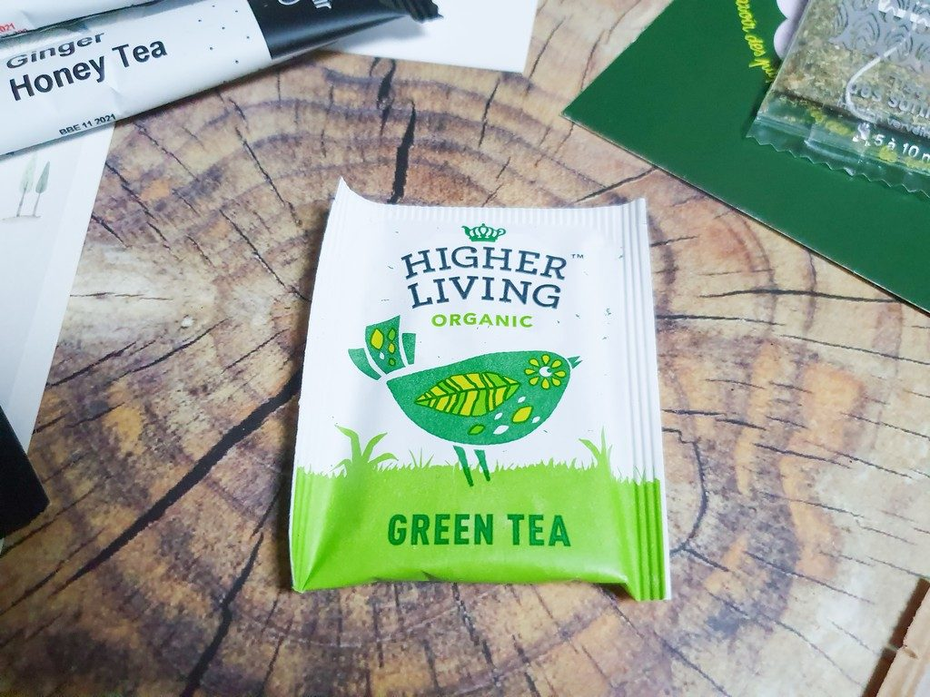 Green tea Higher Living