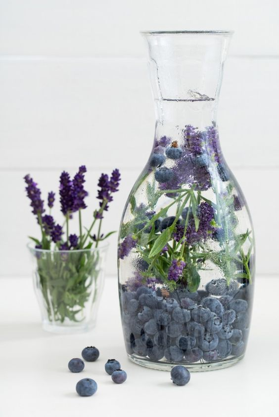 eau aromatisée lavande et myrtillesirtill