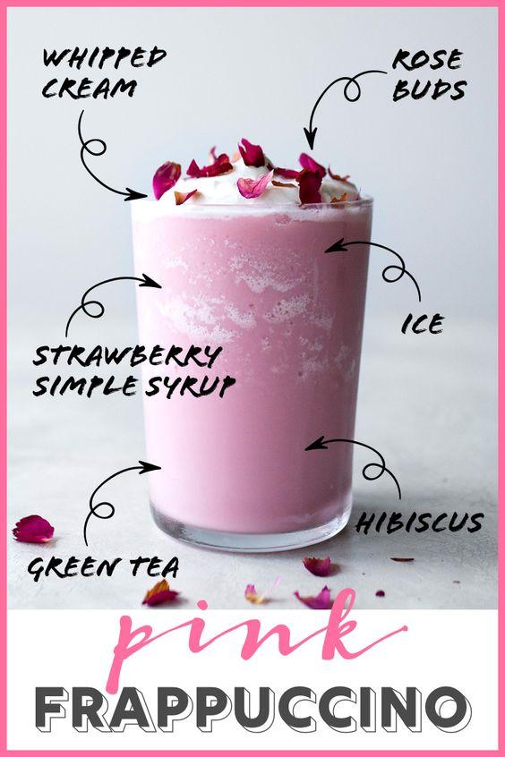 Hibiscus latte