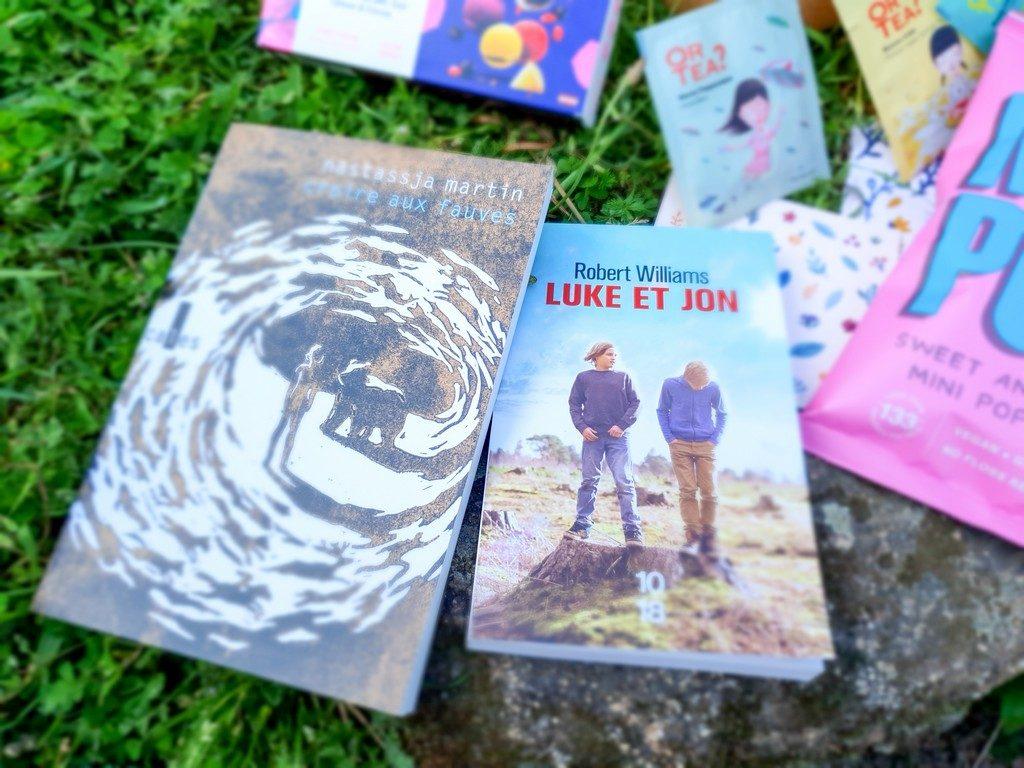 livres box février Exploratology