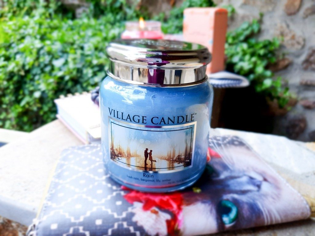 bougie parfumée Rain Village Candle
