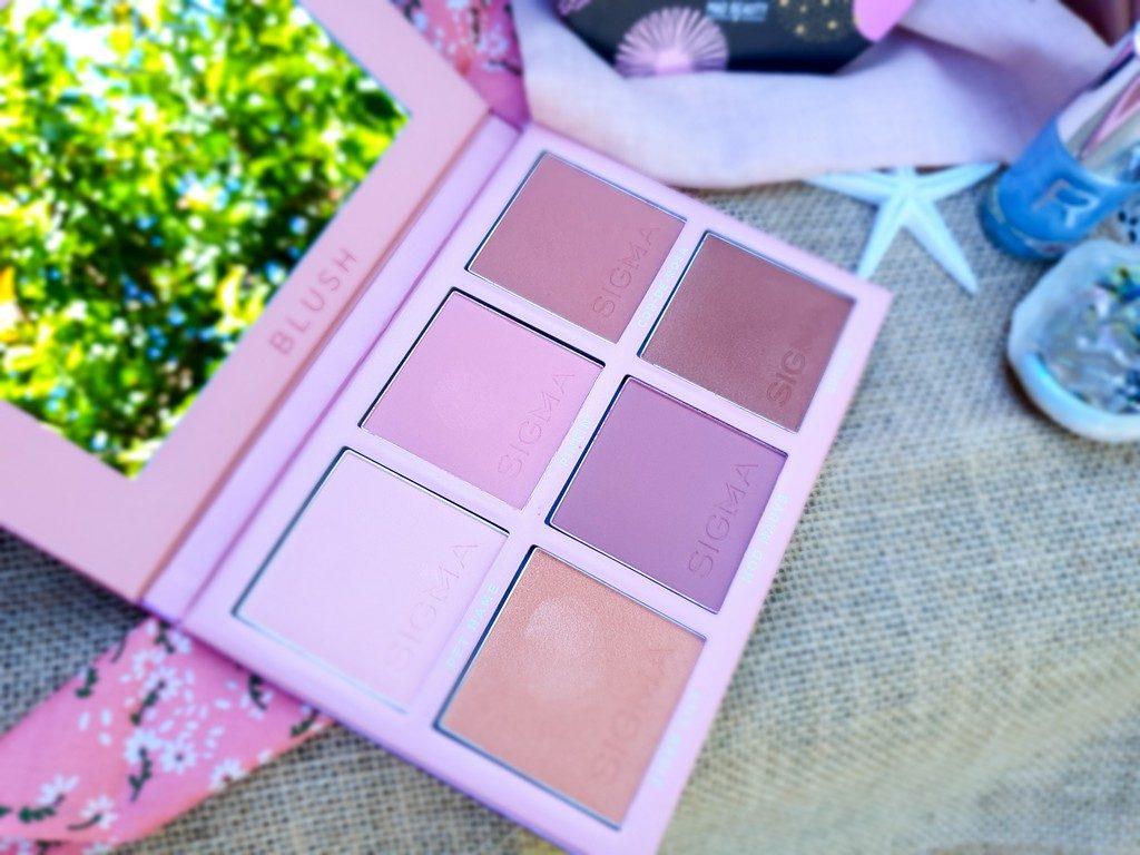 sélection maquillage de princesse : palette blush Sigma Beauty