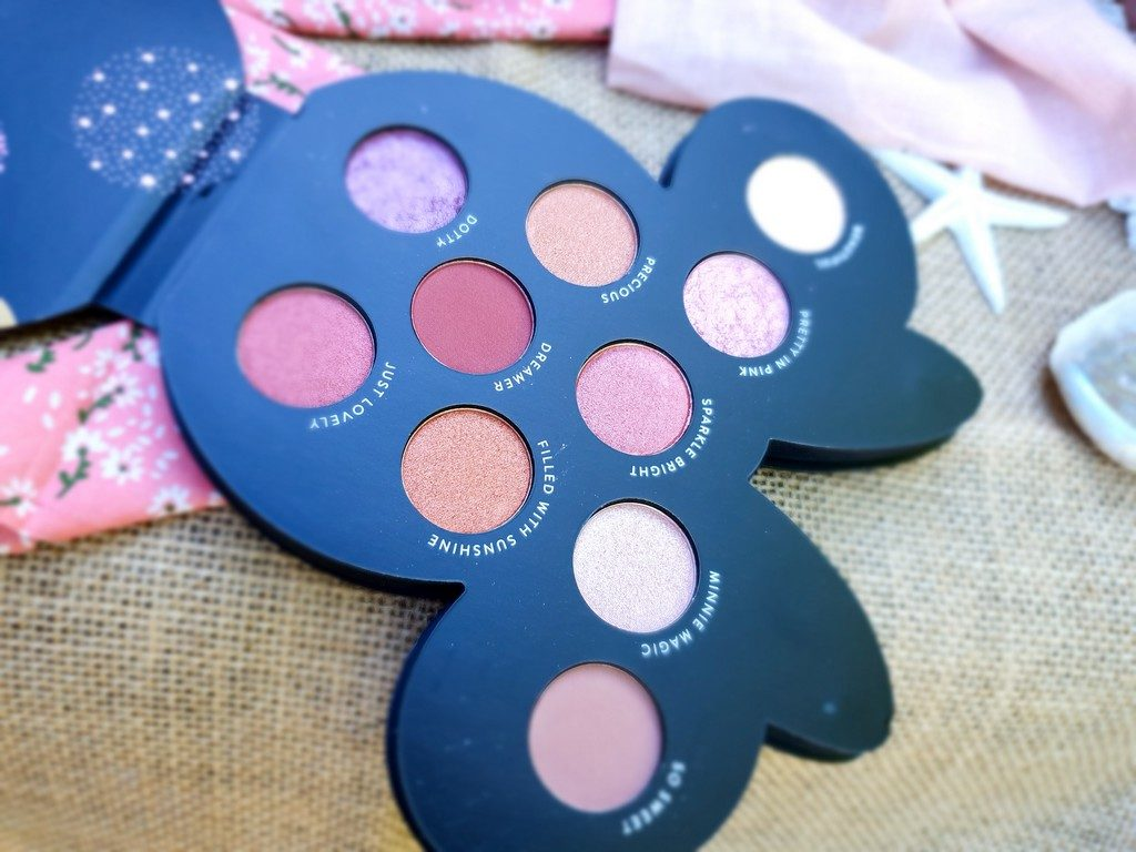 palette yeux Minnie Mouse Mad Beauty