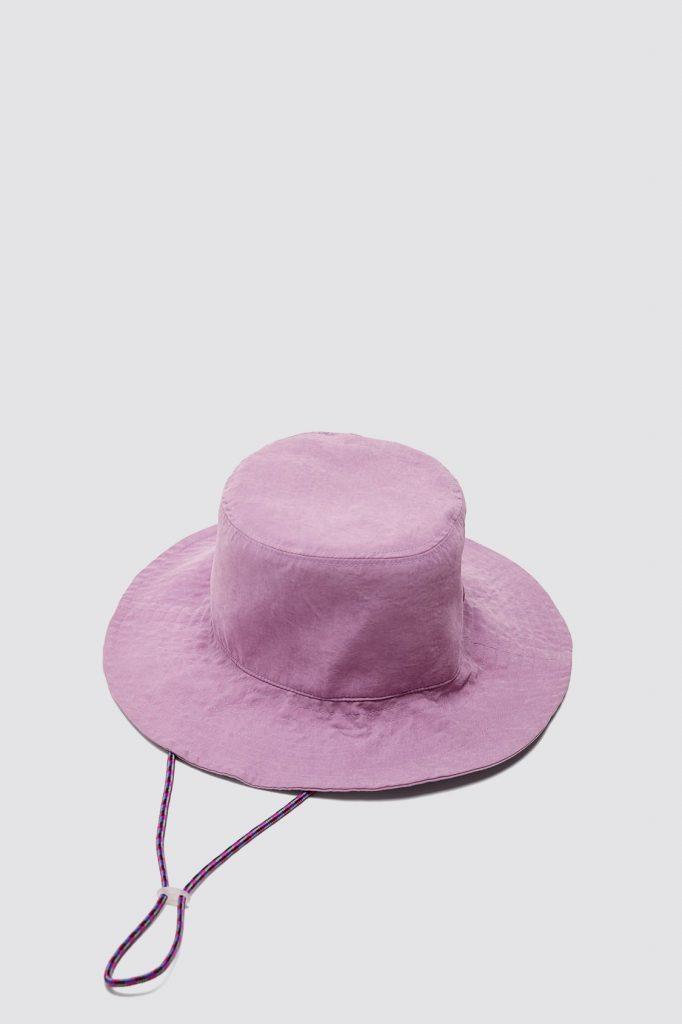 chapeau seau à lacet Zara