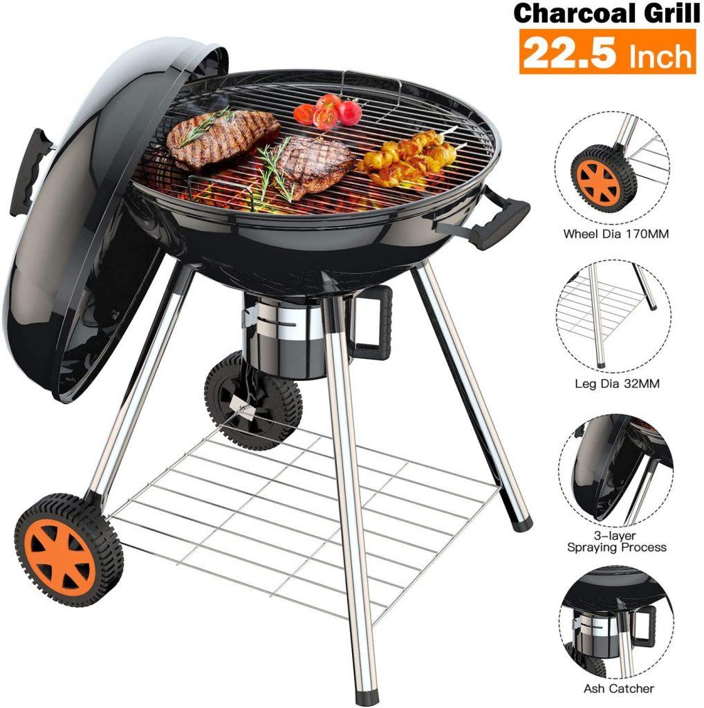 tendances shopping été 2020 : barbecue au charbon de bois