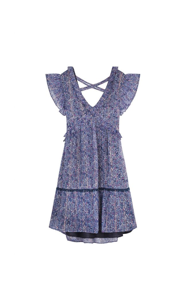 robe courte Marigold Blue Hipanema