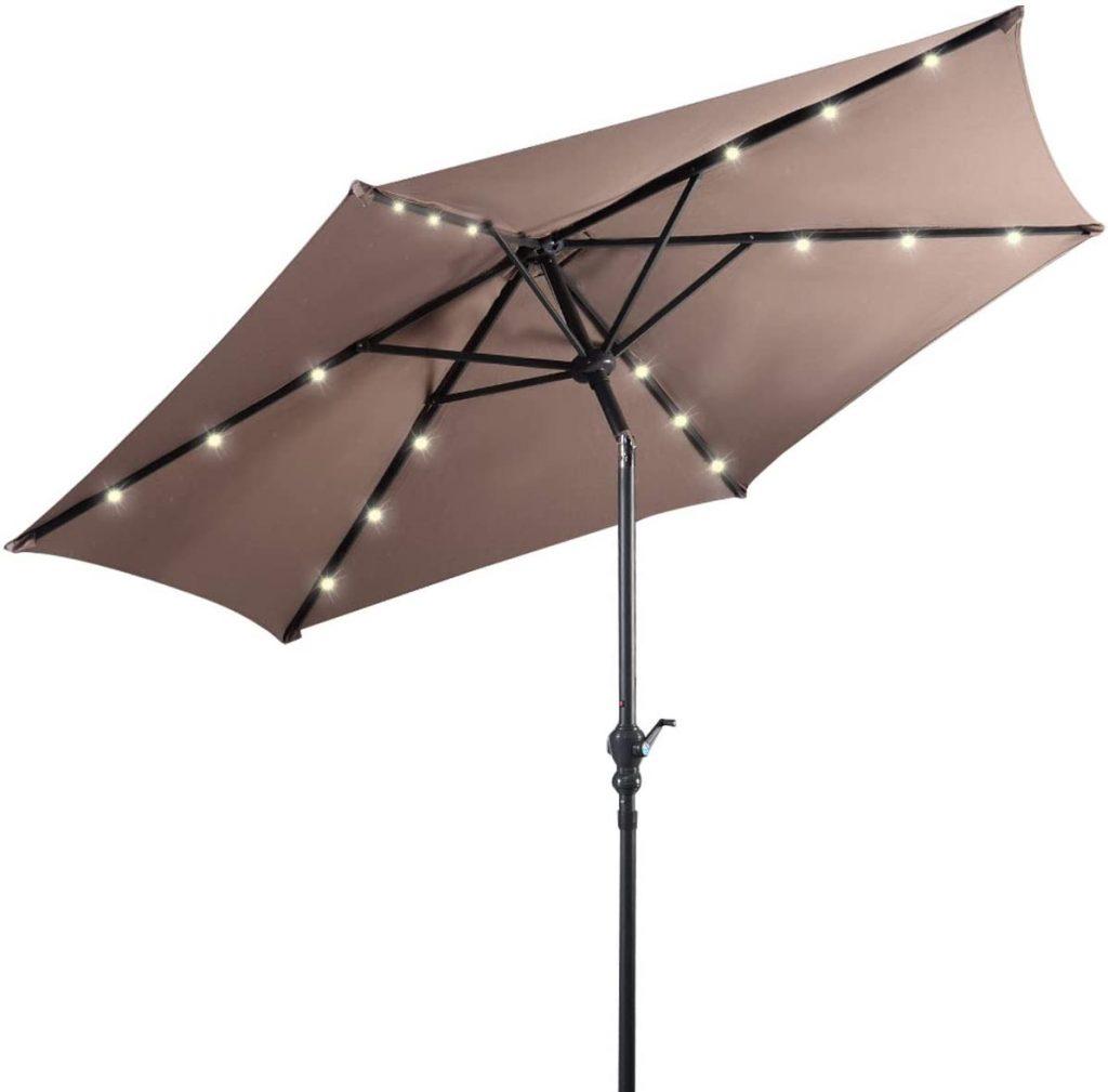 parasol lumineux