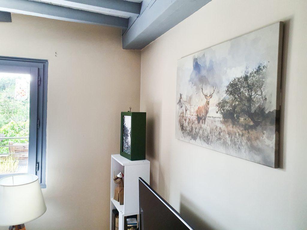 tableau cerf Bimago