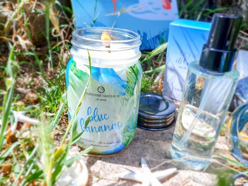 bougie Blue Bananas Milkhouse Candle Co.