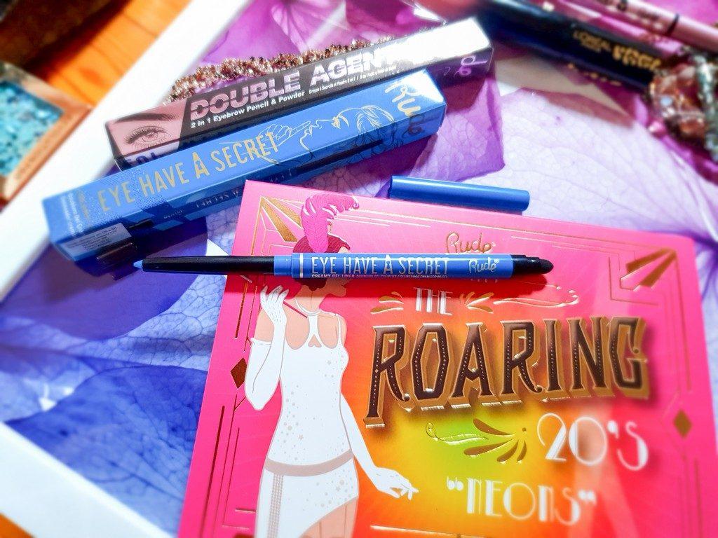 crayon yeux bleu Rude Cosmetics