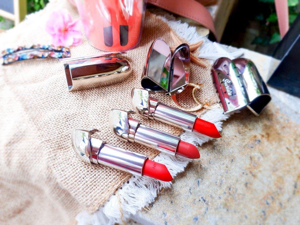 présentation et avis coffret de beaux rouges à lèvres Rouge G Guerlain