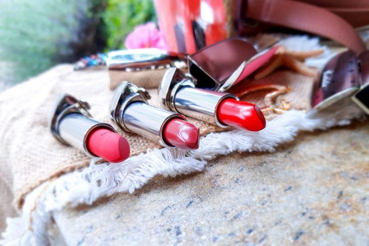 trio de rouges à lèvres Guerlain Rouge G
