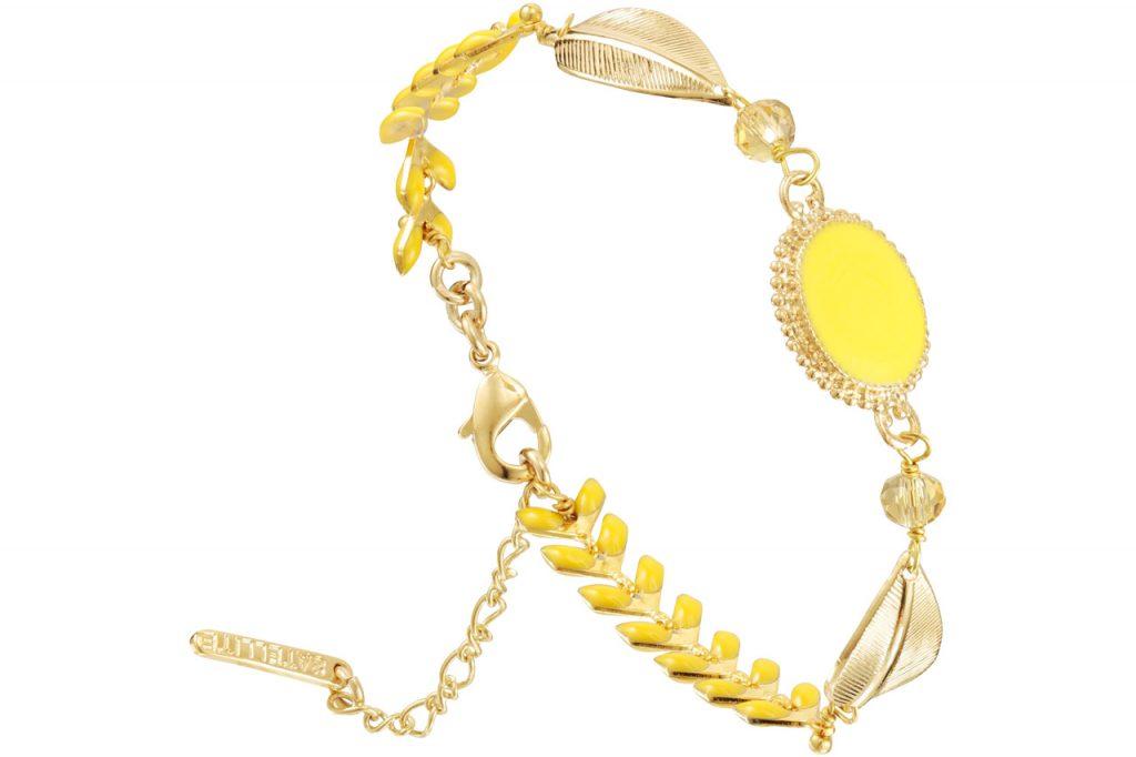 bracelet chaîne cabochon Alizia Satellite Paris