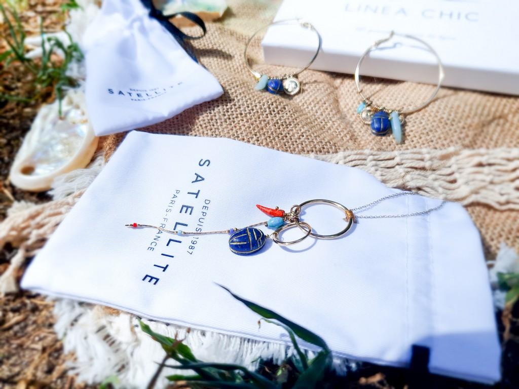 Les bijoux parfaits pour l'été Satellite Paris chez Linea Chic