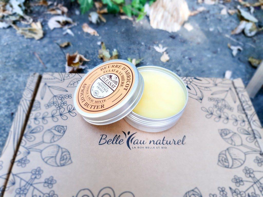 beurre d'abricot Oléanat