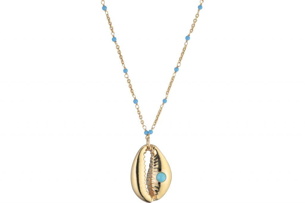 collection bijoux été 2020 Nilaï Paris : pendentif coquillage