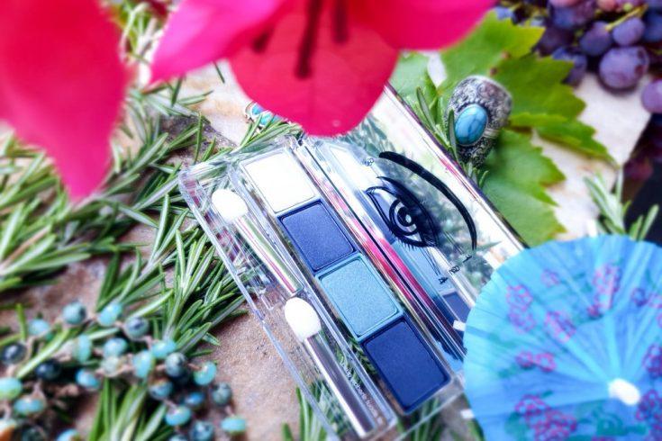 Un maquillage facile avec la palette Clinique aux 4 couleurs coordonnées