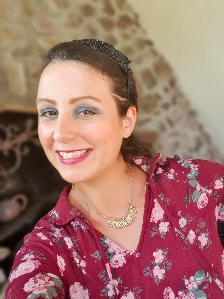 maquillage avec palette yeux Clinique