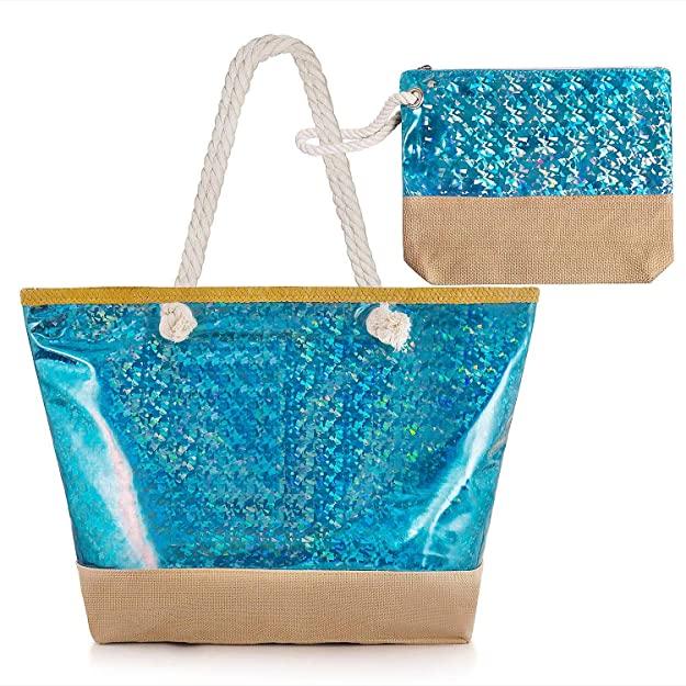 sac de plage brillant