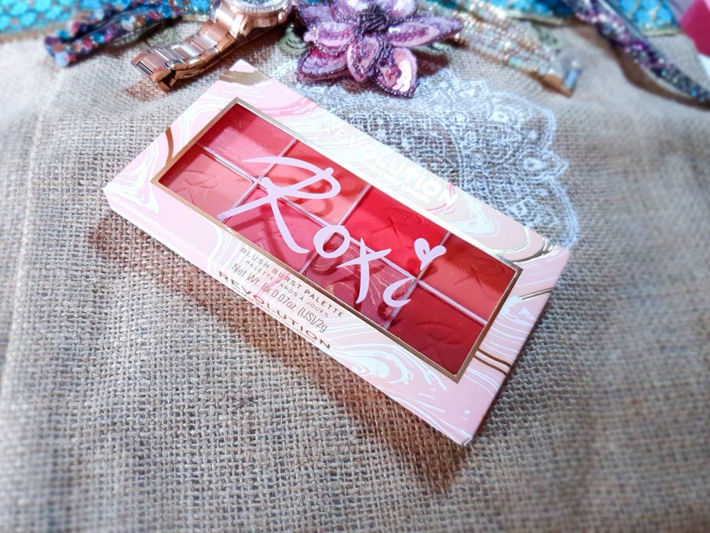 Blush Burst Palette Revolution Make-Up Roxi
