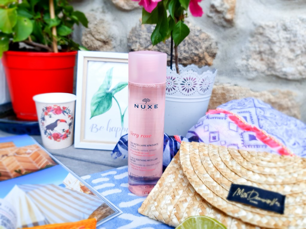 eau micellaire Very Rose Nuxe
