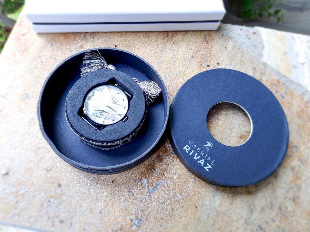 montre Gabriel Rivaz bracelet coton