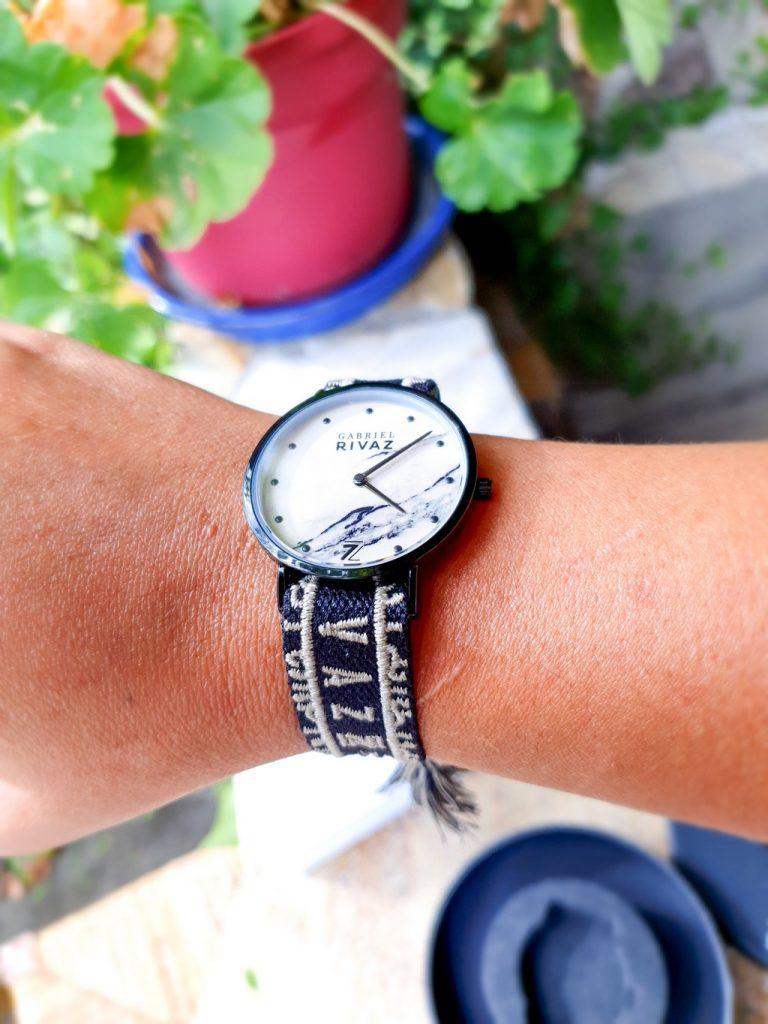 montres bracelets foulard interchangeables Gabriel Rivaz