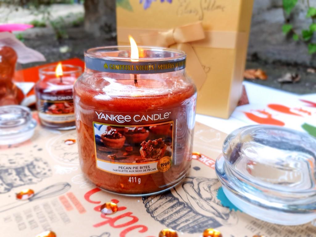 bougie Yankee Candle tartelettes aux noix de pécan