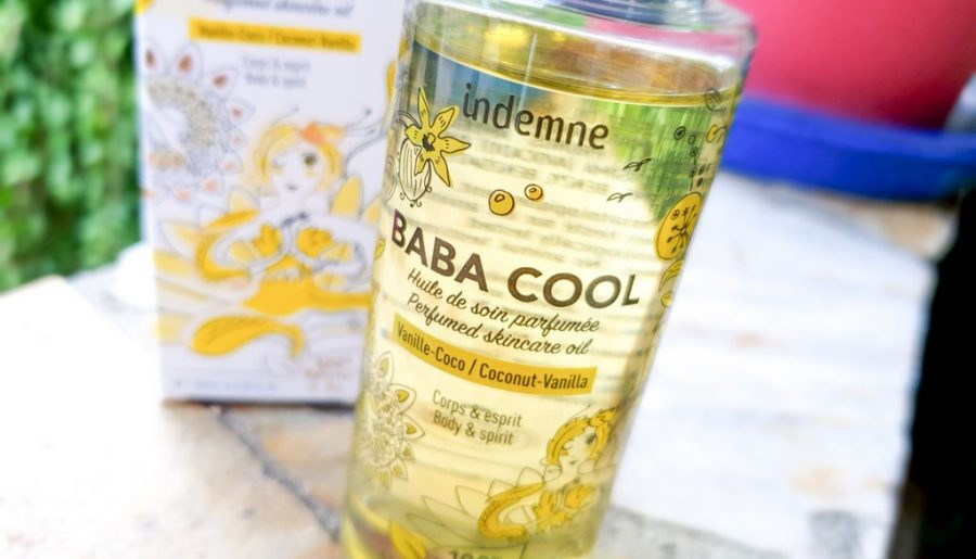 test et avis huile de soin parfumée Vanille Coco Baba Cool Indemne