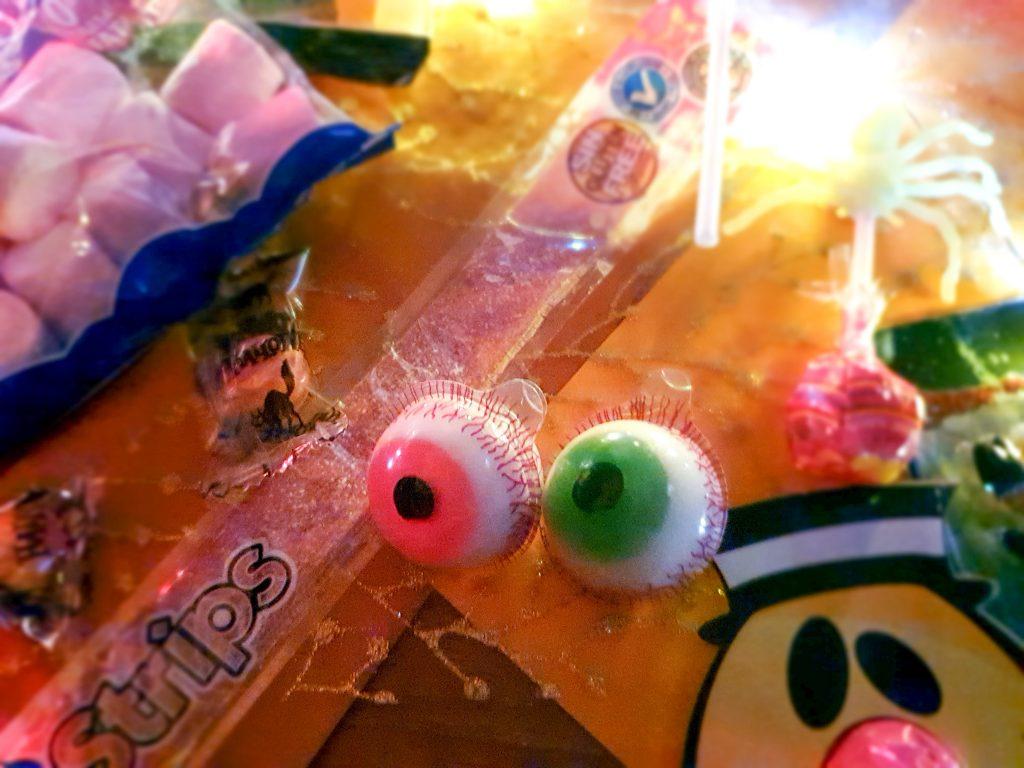 bonbon en forme d'oeil