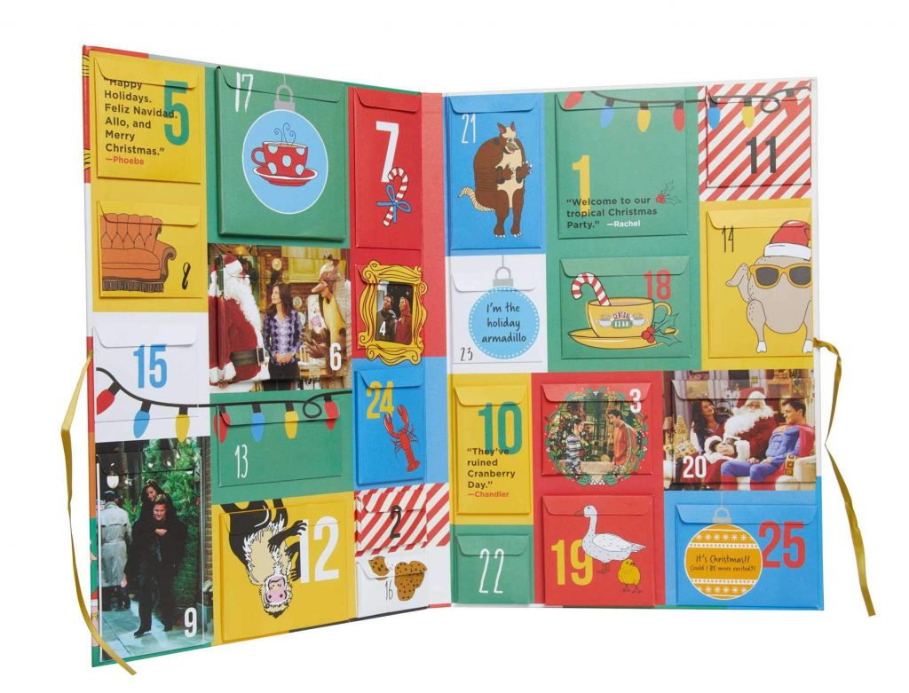 le top des calendriers originaux du net sur la série Friends